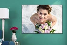 Foto su tela_esempio sposa alto