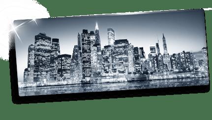 Idee foto su plexiglass panorama_esempio metropoli