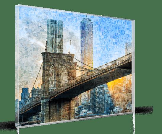 Mosaico plexiglass_esempio ponte