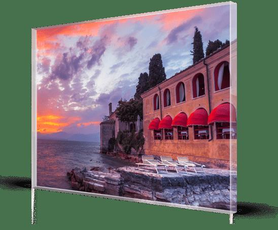Plexiglass 8 mm_esempio mare Italia