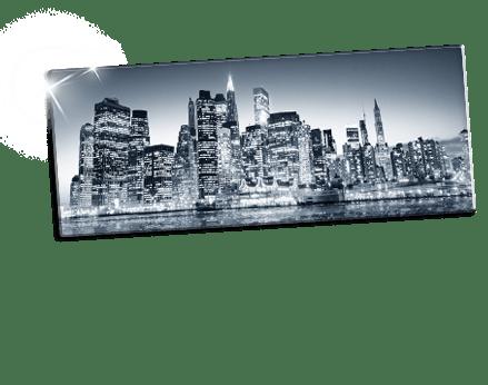 Plexiglass bianco e nero footer_esempio metropoli
