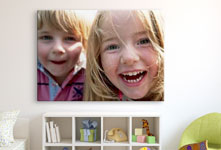 Plexiglass cameretta_esempio primo piano fratello sorella