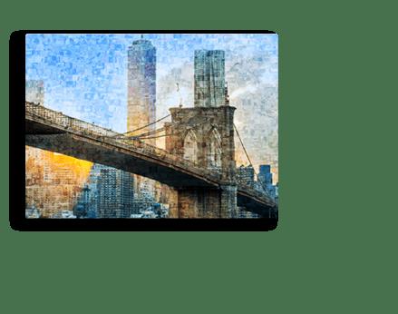 Plexiglass mosaico footer_esempio ponte