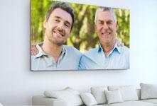 Plexiglass soggiorno_esempio padre e figlio adulti