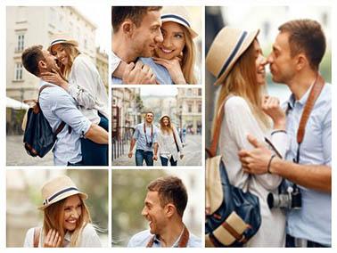 collage foto slider