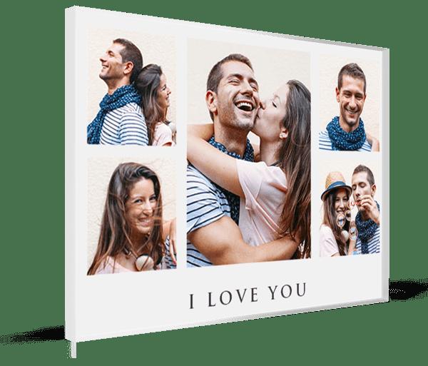collage su plexiglass premium
