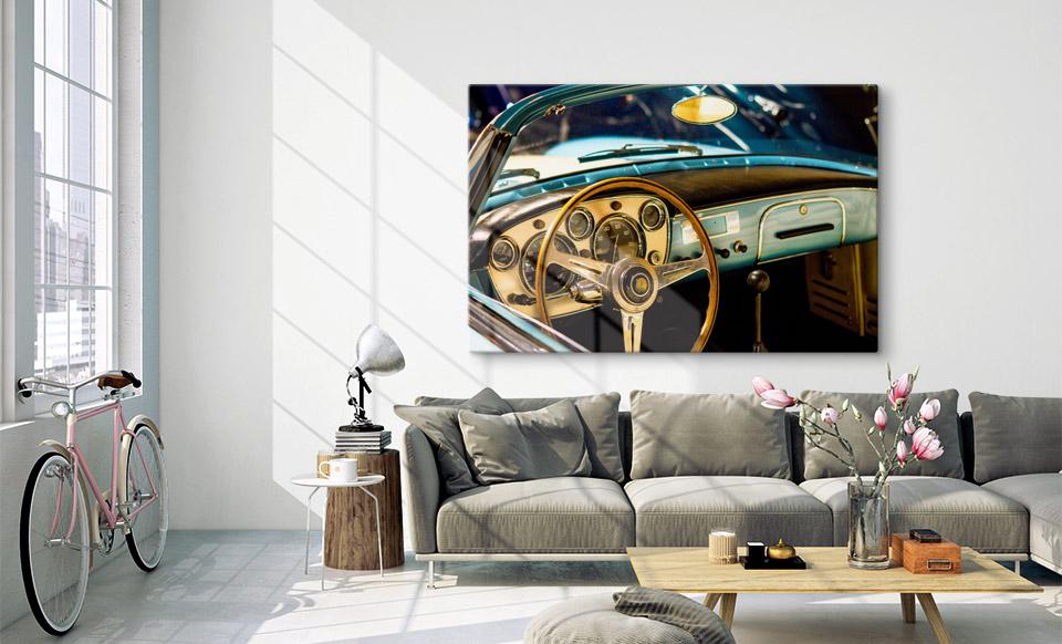 foto su alluminio  spazio di vita