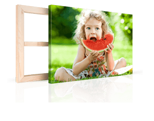 foto su tela per natale 2_esempio bambina con anguria