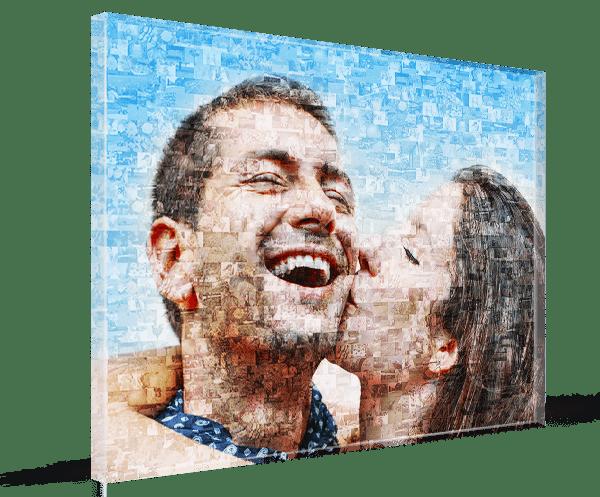 stampa su plexiglas mosaico premium 3d 1