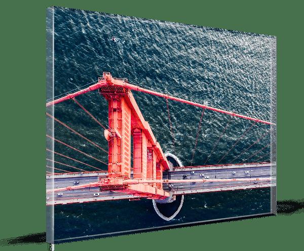 stampa su plexiglass premium 3d
